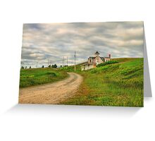 A Summer Place Greeting Card