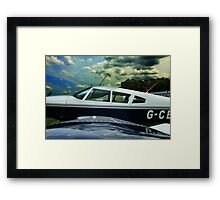 Weather To Fly...? Framed Print