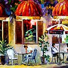 ESPRESSO - PARIS - OIL PAINTING BY LEONID AFREMOV by Leonid  Afremov