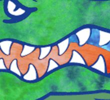 Florida Gator Tie Dye Sticker
