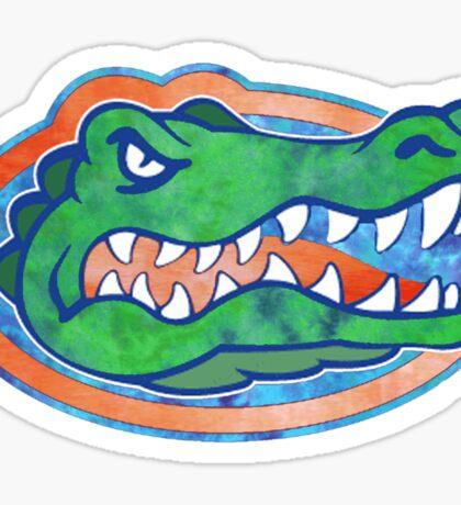 Florida Gator Tie Dye Sticker