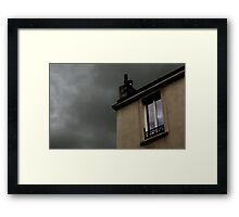 The end of the World....  The Last day ...... A House..... Two survivors ... Framed Print