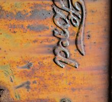 Rusty Orange Ford by trussphoto