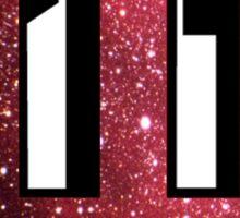 Indiana Red Galaxy Sticker