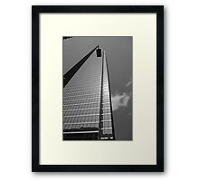 Alignment of the lamp Framed Print