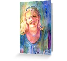 A Girl Called Mary Greeting Card
