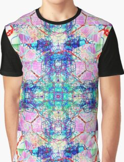 inverted Infinity Erupting from the Center Abstract mirrored Photography  Graphic T-Shirt