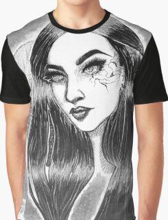 Cracked Girl Graphic T-Shirt