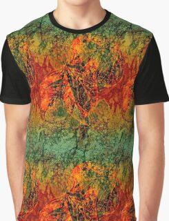 Autumn Foliage Graphic T-Shirt