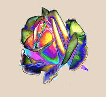 Splendiferous rose design Womens Fitted T-Shirt