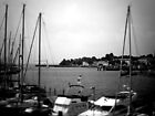 NeinGrenze - Harbour b&w by YourEyesAreMine