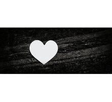 Heart & Stone Photographic Print