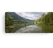 Hintersee, Berchtesgadener Land, Bavaria, Germany Canvas Print