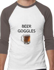 Beer Goggles Men's Baseball ¾ T-Shirt
