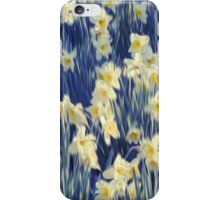 White Daffodils  iPhone Case/Skin