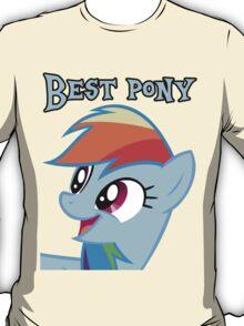 Rainbow Dash is best pony T-Shirt