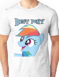 Rainbow Dash is best pony Unisex T-Shirt