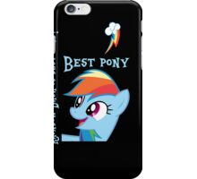 Rainbow Dash is best pony iPhone Case/Skin