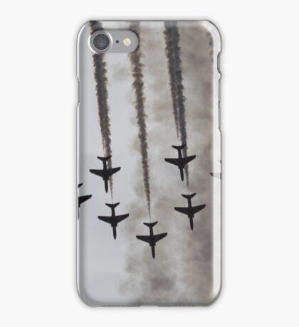 Red Arrows in Smoke iPhone Case/Skin