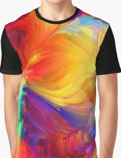 Bright water colours Graphic T-Shirt