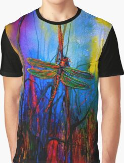 Early One Morning..Dragonfly Towards The Light #5 Graphic T-Shirt