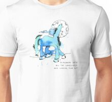 Fernando lets all the loneliness and longing pour out Unisex T-Shirt