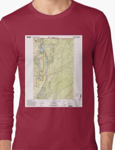 USGS Topo Map Washington State WA Boundary Dam 240169 1992 24000 Long Sleeve T-Shirt