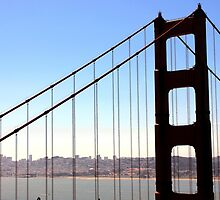 Golden Gate in June by mczahar