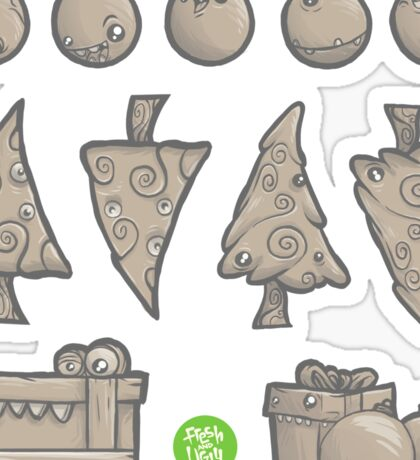 """Kreepy Krismus - """"Gingerbread Cookies"""" - See Artist's notes about stickers before purchasing Sticker"""