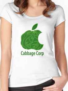 Legend of Korra Avatar Cabbage Corp Women's Fitted Scoop T-Shirt