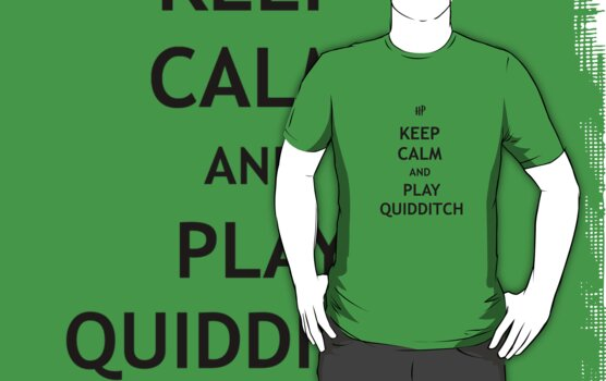 Keep Calm and Play Quidditch by tappers24