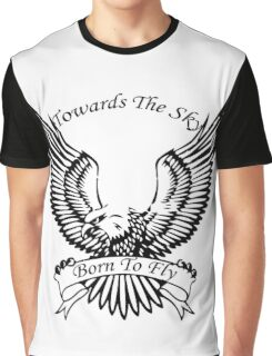 Towards The Sky, Born To Fly Graphic T-Shirt