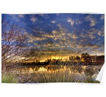 South Esk HDR - Longford, Tasmania, Australia Poster