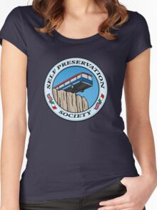 Self Preservation Society Women's Fitted Scoop T-Shirt