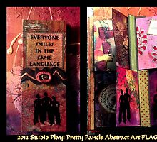 2012 Studio Play - Pretty Panels Abstract Art Books by © Angela L Walker
