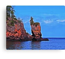 Shovel Point Canvas Print