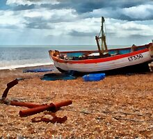 Aldeburgh Fishing Boat by Bel Menpes