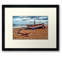Aldeburgh Fishing Boat Framed Print