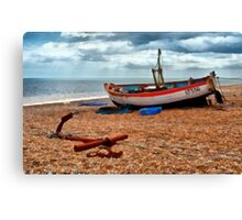 Aldeburgh Fishing Boat Canvas Print