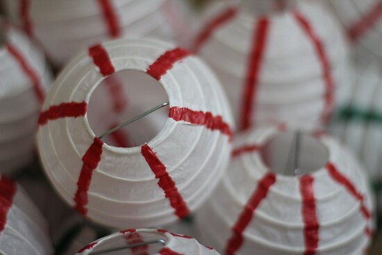 Paper Lanterns, Unlit by Rafiul Alam