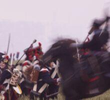 British Cavalry Charge Sticker