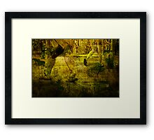 Pedestrians On the Move No.7 Framed Print
