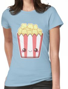 Popcorn! Womens Fitted T-Shirt