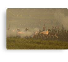 British Line Infantry Canvas Print