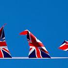 Dancing Jubilee Bunting by Paul Knowles