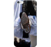 Original Greek guard shoe -Tsarouxi iPhone Case/Skin