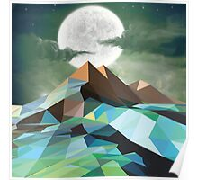 Night Mountains No. 3 Poster