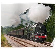 LMS Princess Coronation Class 6233 Duchess of Sutherland Poster