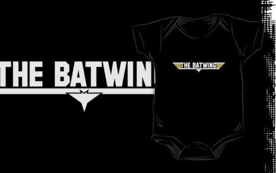 The Batwing Top Gun: Dark shirt by SevenHundred