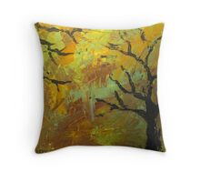 Reaching limbs Throw Pillow